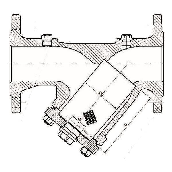 Mesh Spare Parts for Strainer ZETKAMA 821